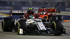 F1 GP Singapore 2019, Marina Bay: Antonio Giovinazzi (Alfa Romeo Racing)