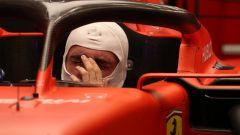 F1 GP Singapore 2019, Marina Bay: Charles Leclerc (Ferrari) all'interno dell'abitacolo della SF90