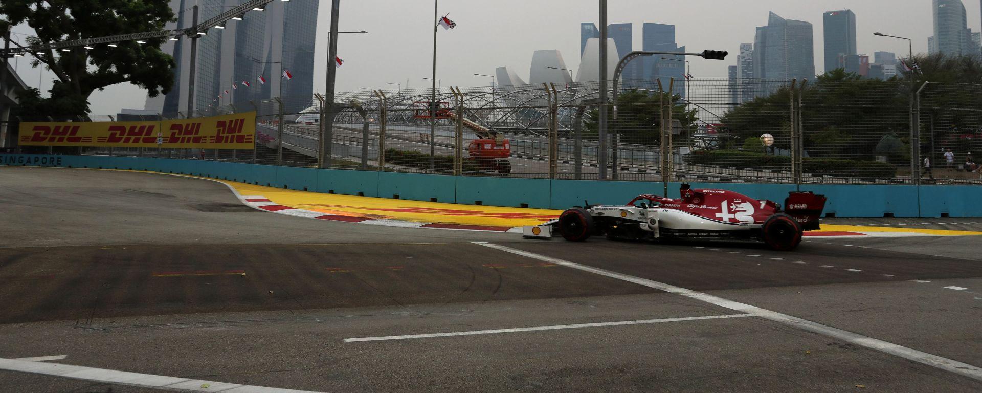 F1 GP Singapore 2019, Marina Bay: Kimi Raikkonen (Alfa Romeo Racing)