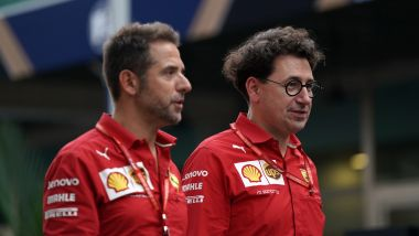 F1 GP Singapore 2019, Marina Bay, Mattia Binotto (Ferrari)