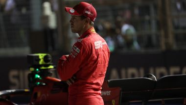 F1 GP Singapore 2019, Marina Bay: Sebastian Vettel (Ferrari)