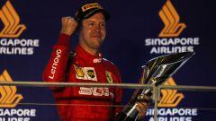 F1 GP Singapore 2019, Marina Bay, Sebastian Vettel (Ferrari)
