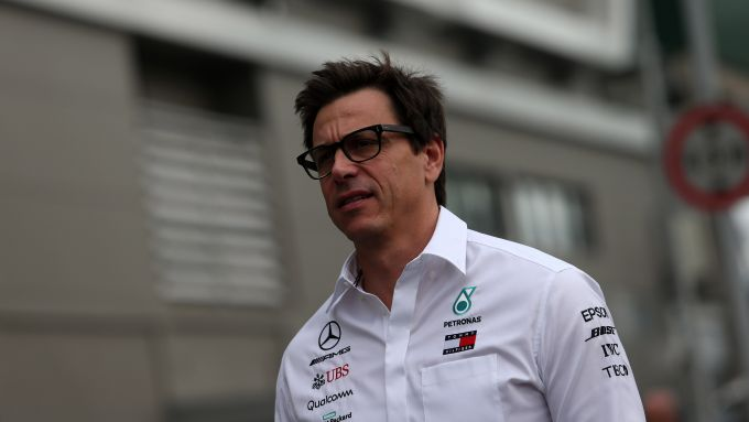 F1 GP Singapore 2019, Marina Bay, Toto Wolff (Mercedes)