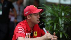 """Vettel e la SF90: """"Problema tecnico, non mentale"""""""