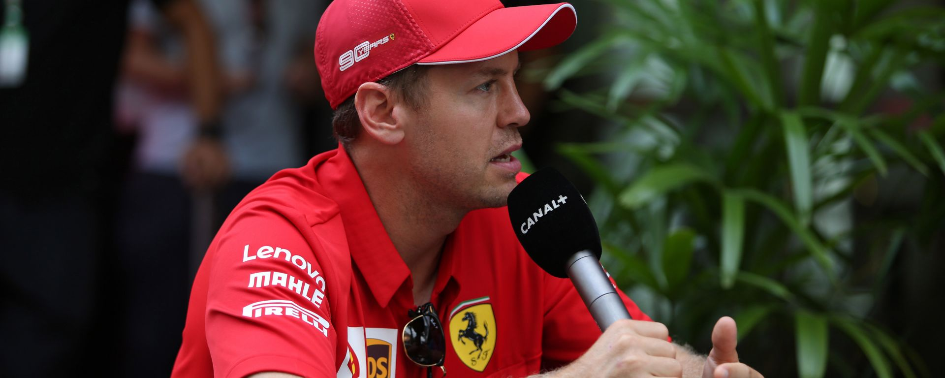 F1 GP Singapore 2019, Monza: Sebastian Vettel (Ferrari)