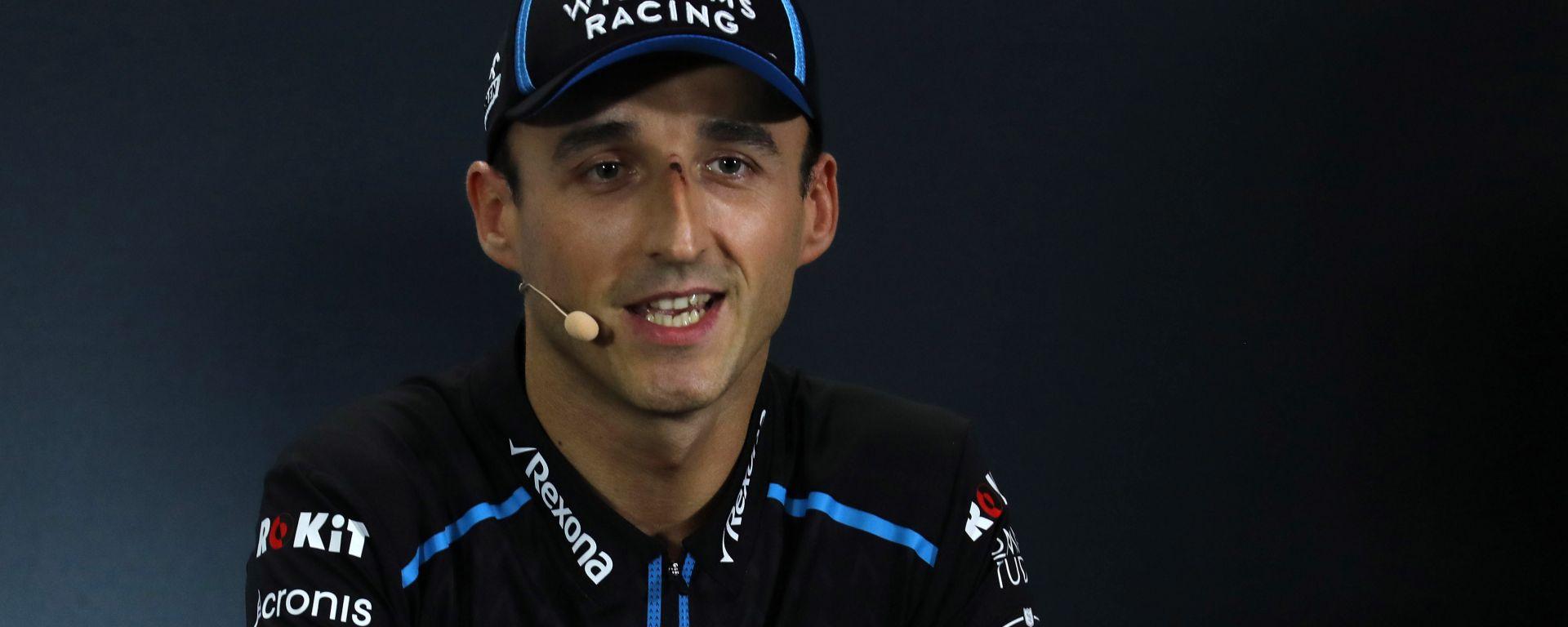 F1 GP Singapore 2019, Robert Kubica (Williams)