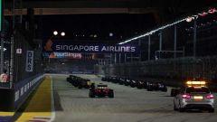 F1 GP Singapore, la partenza dell'edizione 2016