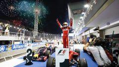 F1 GP Singapore, la vittoria di Sebastian Vettel nell'edizione 2015