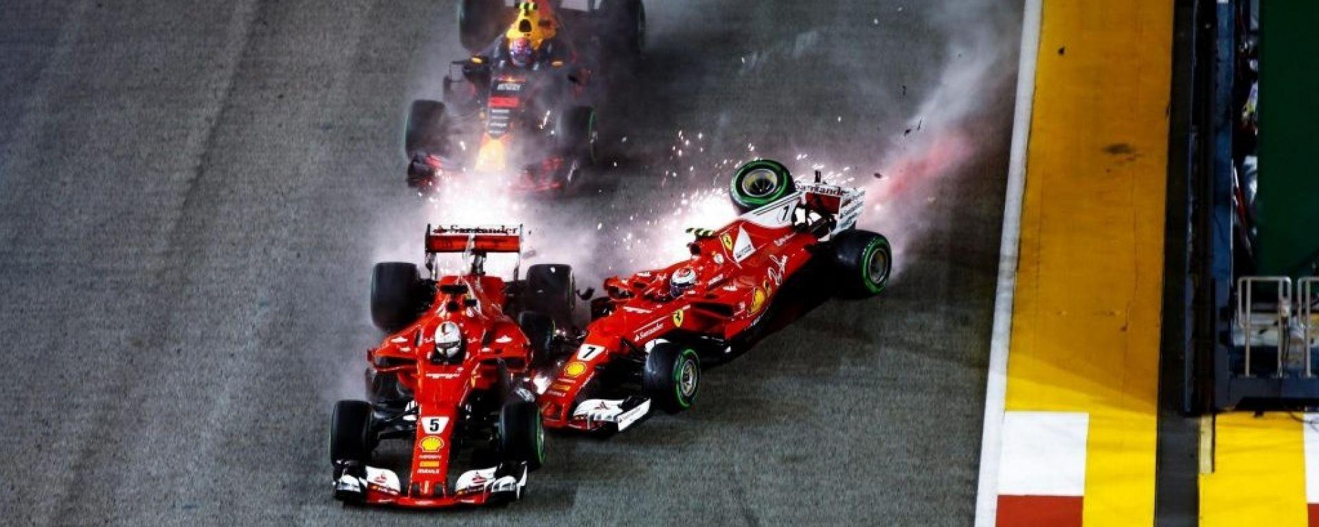 F1 GP Singapore: Verstappen, Vettel o Raikkonen?