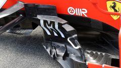 F1 GP Spagna 2019, dettagli dei bargeboard della Ferrari SF90
