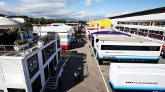 F1, GP Spagna 2019: il paddock visto dall'alto