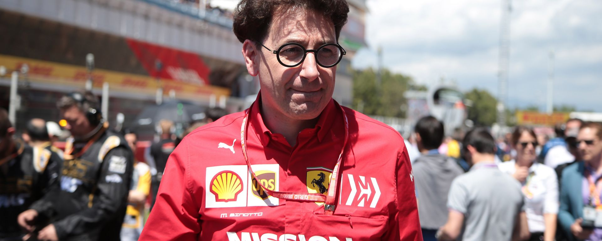 F1 GP Spagna 2019, il team principal della Ferrari, Mattia Binotto
