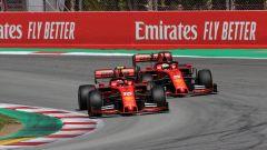F1 GP Spagna 2019, lo scambio di posizioni tra Vettel e Leclerc ordinato dal muretto Ferrari