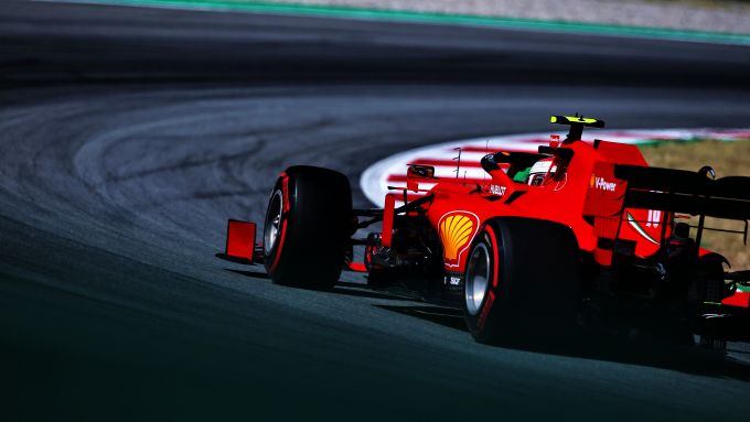 F1 GP Spagna 2020, Barcellona: Charles Leclerc (Ferrari)
