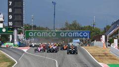 F1 GP Spagna 2020, Barcellona: la partenza della gara