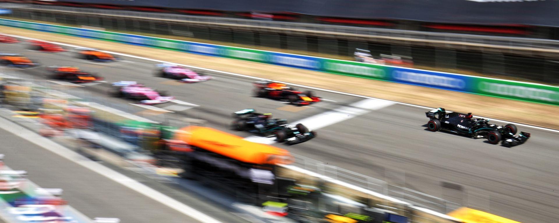 F1 GP Spagna 2020, Barcellona Montmelò, la partenza