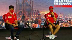 F1, GP Spagna 2020: Charles Leclerc e Sebastian Vettel (Ferrari) in conferenza stampa
