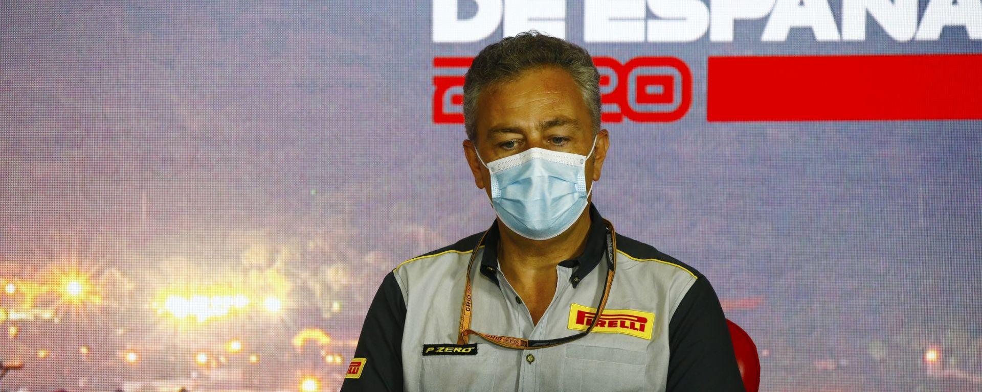 F1, GP Spagna 2020: Mario Isola (Pirelli)