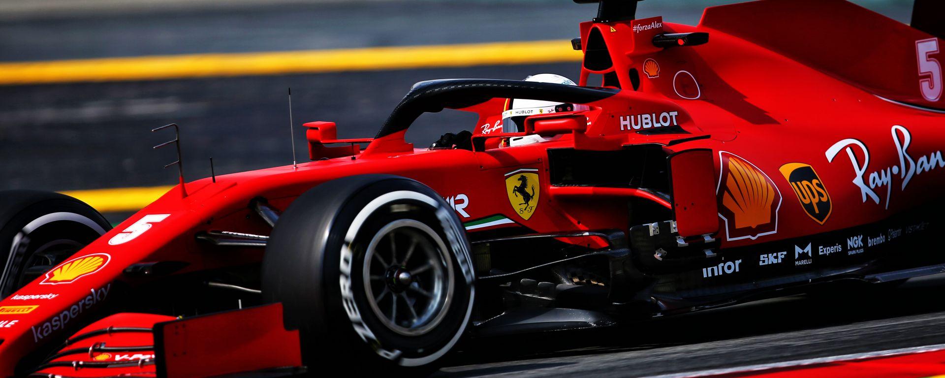 F1, GP Spagna 2020: Sebastian Vettel (Ferrari)
