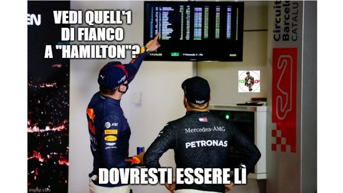 F1, GP Spagna 2020: Verstappen e un distratto Waltterio