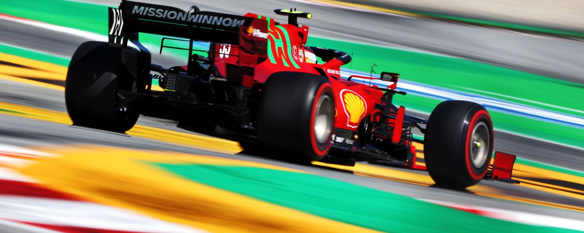 F1 GP Spagna 2021, Barcellona: Carlos Sainz (Scuderia Ferrari)
