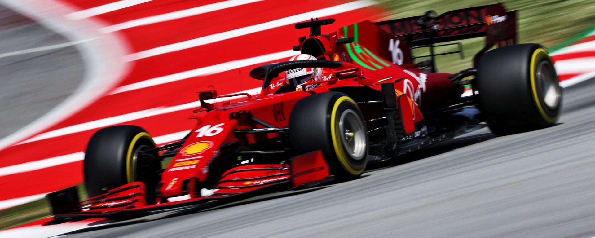 F1 GP Spagna 2021, Barcellona: Charles Leclerc (Scuderia Ferrari)