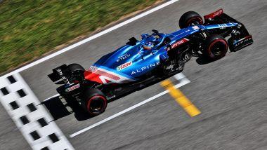 F1 GP Spagna 2021, Barcellona: Fernando Alonso (Alpine F1 Team)