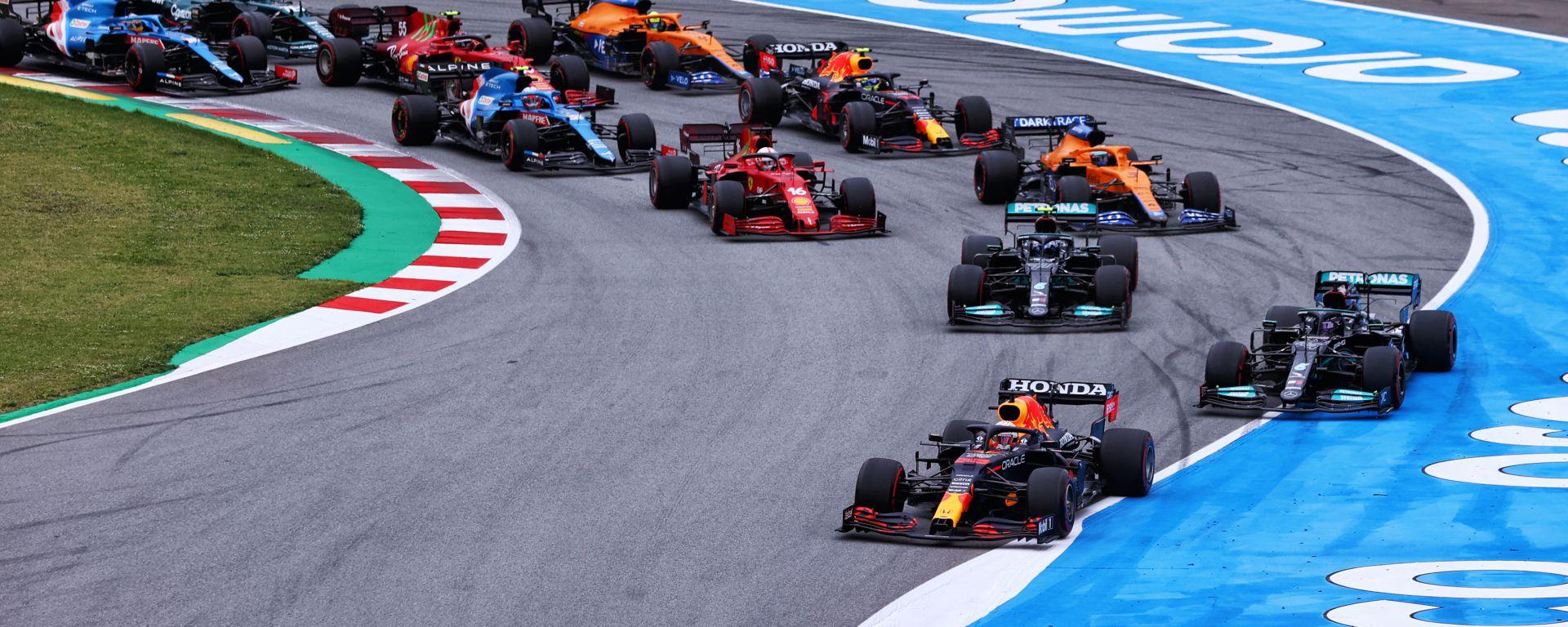 F1 GP Spagna 2021, Barcellona: La partenza della gara