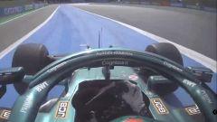 F1 GP Spagna 2021, Barcellona: Lance Stroll (Aston Martin Racing) taglia la prima chicane
