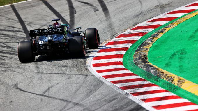 F1 GP Spagna 2021, Barcellona: Lewis Hamilton (Mercedes AMG F1)