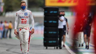 F1 GP Spagna 2021, Barcellona: Mick Schumacher (Haas F1 Team) prima del via