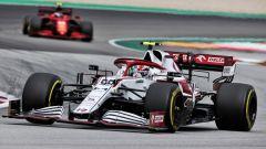 F1 GP Spagna 2021, Barcellona, Montmelò: Antonio Giovinazzi (Alfa Romeo)