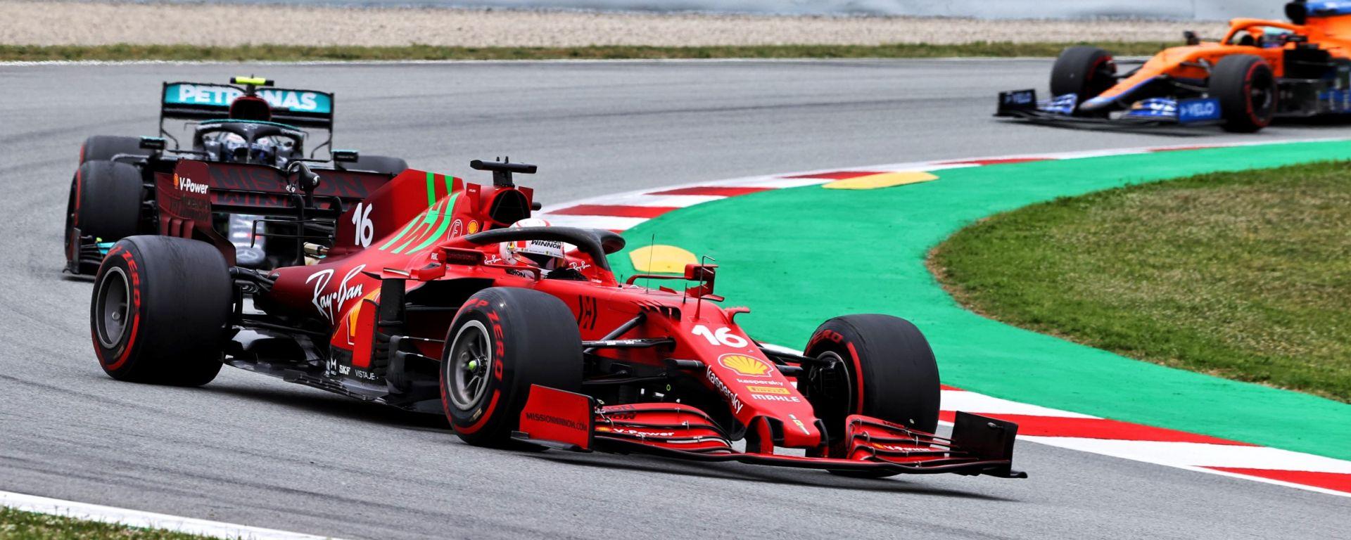 F1, GP Spagna 2021: Charles Leclerc (Ferrari)