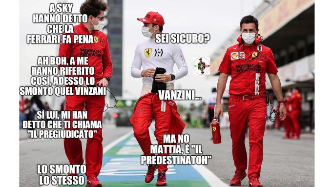 F1, GP Spagna 2021: il nervosismo di Mattia