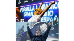 F1, GP Spagna 2021: il Sofficino Australiano festeggia