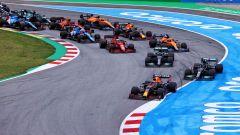 F1, GP Spagna 2021: la partenza della gara