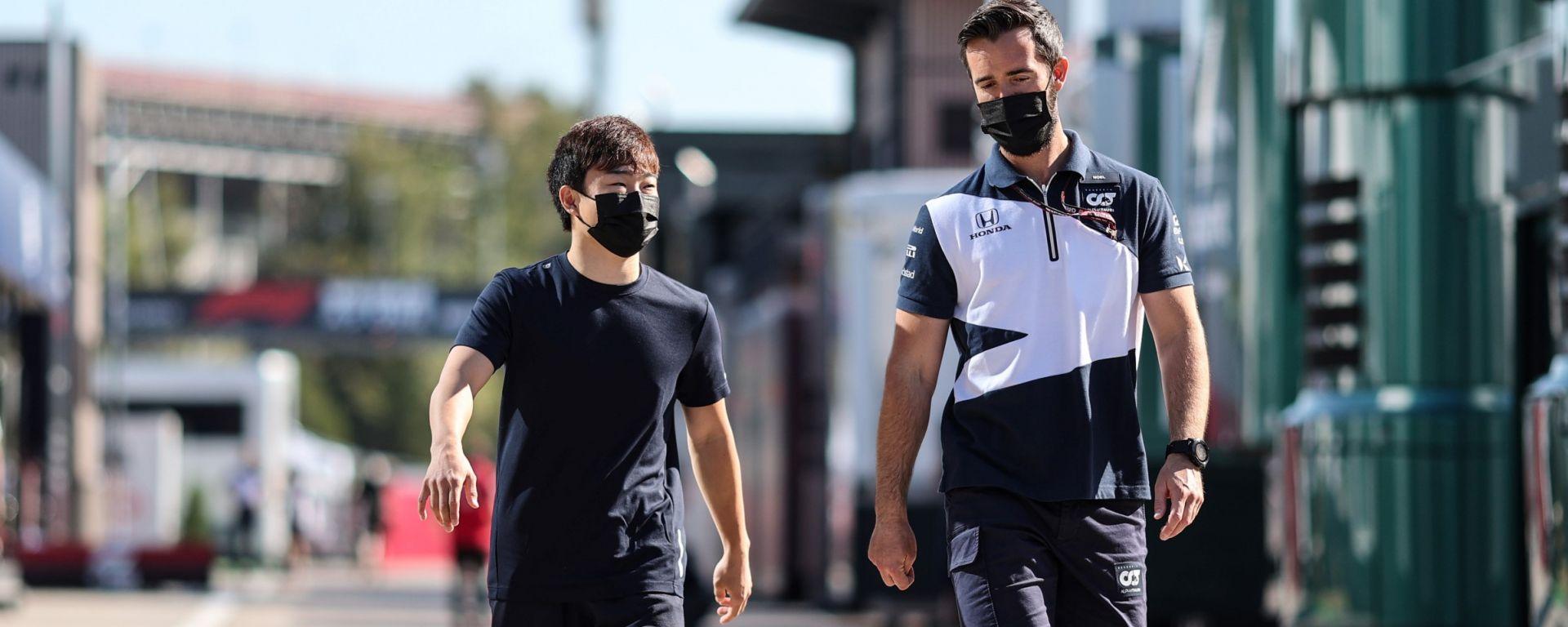 F1, GP Spagna 2021: Yuki Tsunoda (AlphaTauri)