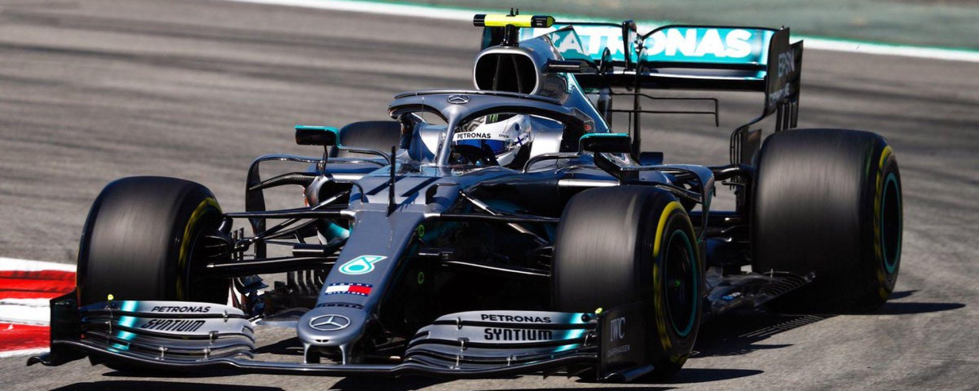 F1 Gp Spagna 2019 – PL1: Bottas chiude primo, Vettel e Leclerc sono lì