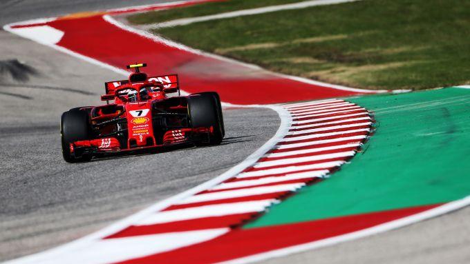 F1 GP Stati Uniti 2018, Austin: Kimi Raikkonen (Ferrari)