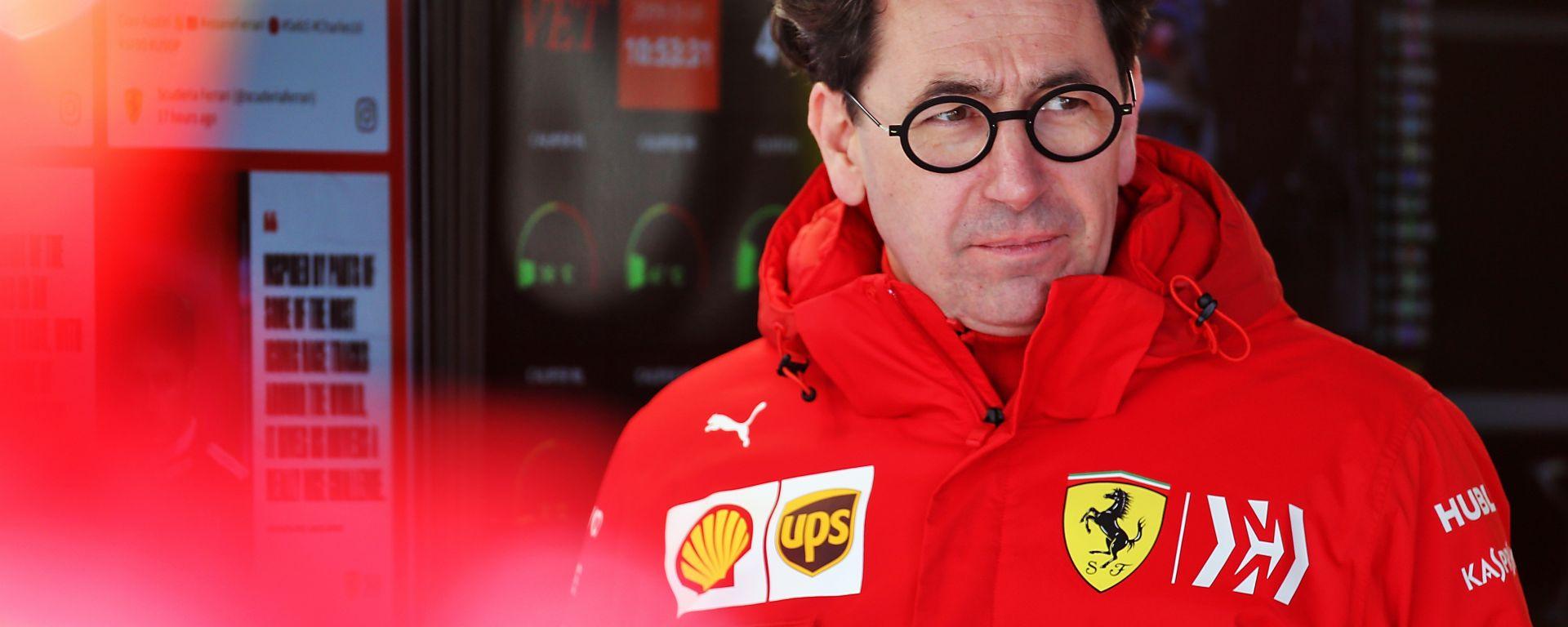 F1 GP Stati Uniti 2019, Austin: Mattia Binotto, team principal della Ferrari