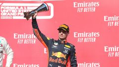 F1 GP Stati Uniti 2019, Austin: Max Verstappen (Red Bull) sul terzo gradino del podio
