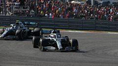 F1, GP Stati Uniti 2019: la lotta tra Lewis Hamilton e Valtteri Bottas (Mercedes)