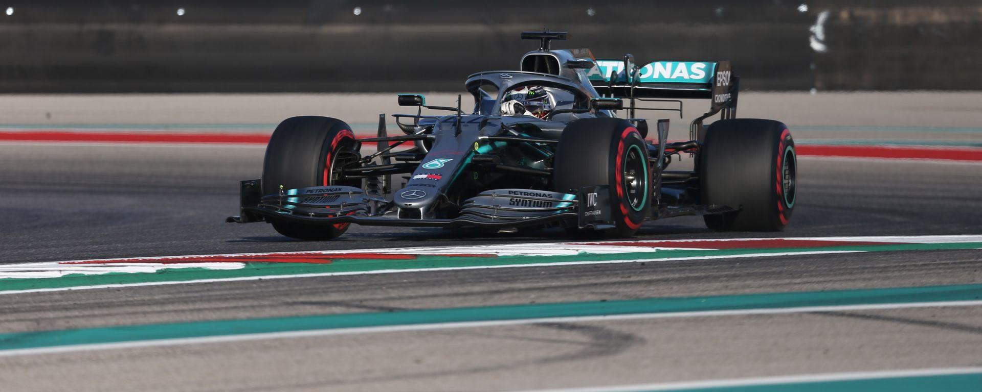 F1, GP Stati Uniti 2019: Lewis Hamilton (Mercedes)