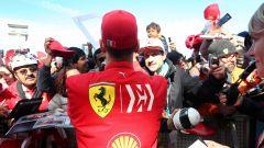 La sorpresa di Vettel a un tifoso della Ferrari