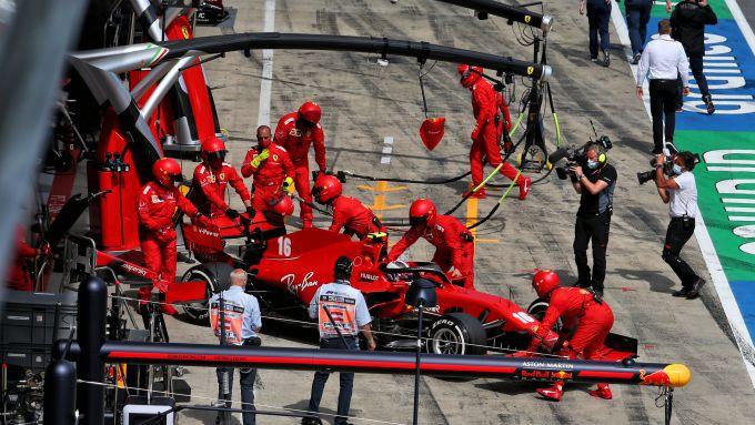 F1, GP Stiria 2020: Charles Leclerc (Ferrari) si ritira dalla gara