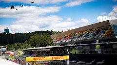 F1, GP Stiria 2020: esibizione muscolare degli indipendentisti stiriani