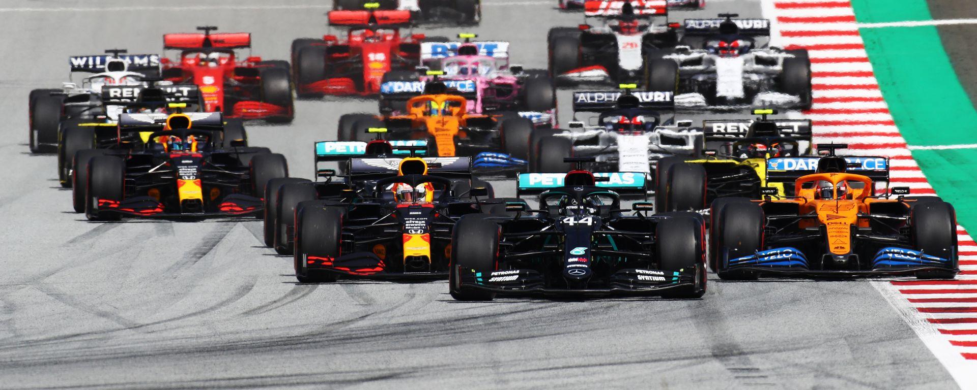 F1, GP Stiria 2020: la partenza