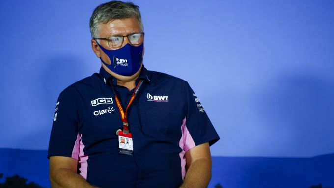 F1, GP Stiria 2020: Otmar Szafnauer, team principal della Racing Point