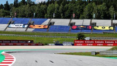 F1 GP Stiria 2020, Red Bull Ring: atmosfera dal circuito