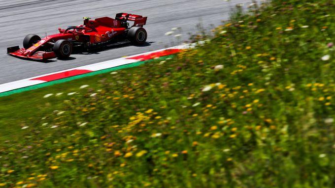 F1 GP Stiria 2020, Red Bull Ring: Charles Leclerc (Ferrari)